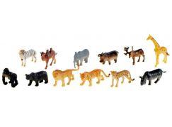 Teddies Zvířátka - Safari 12ks