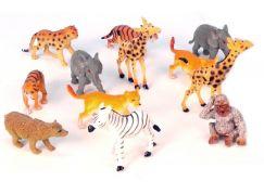 Teddies Zvířátka - Safari mláďata 12ks