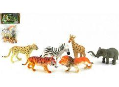 Teddies Zvířátka safari 6ks