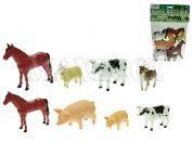 Teddies Zvířátka - Farma 8ks