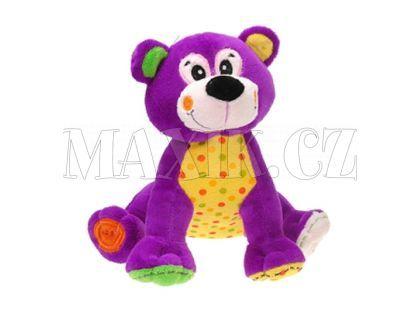 Teddies Zvířátka plyšová sedící 20cm - Medvěd