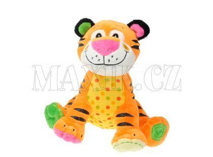 Teddies Zvířátka plyšová sedící 20cm - Tygr