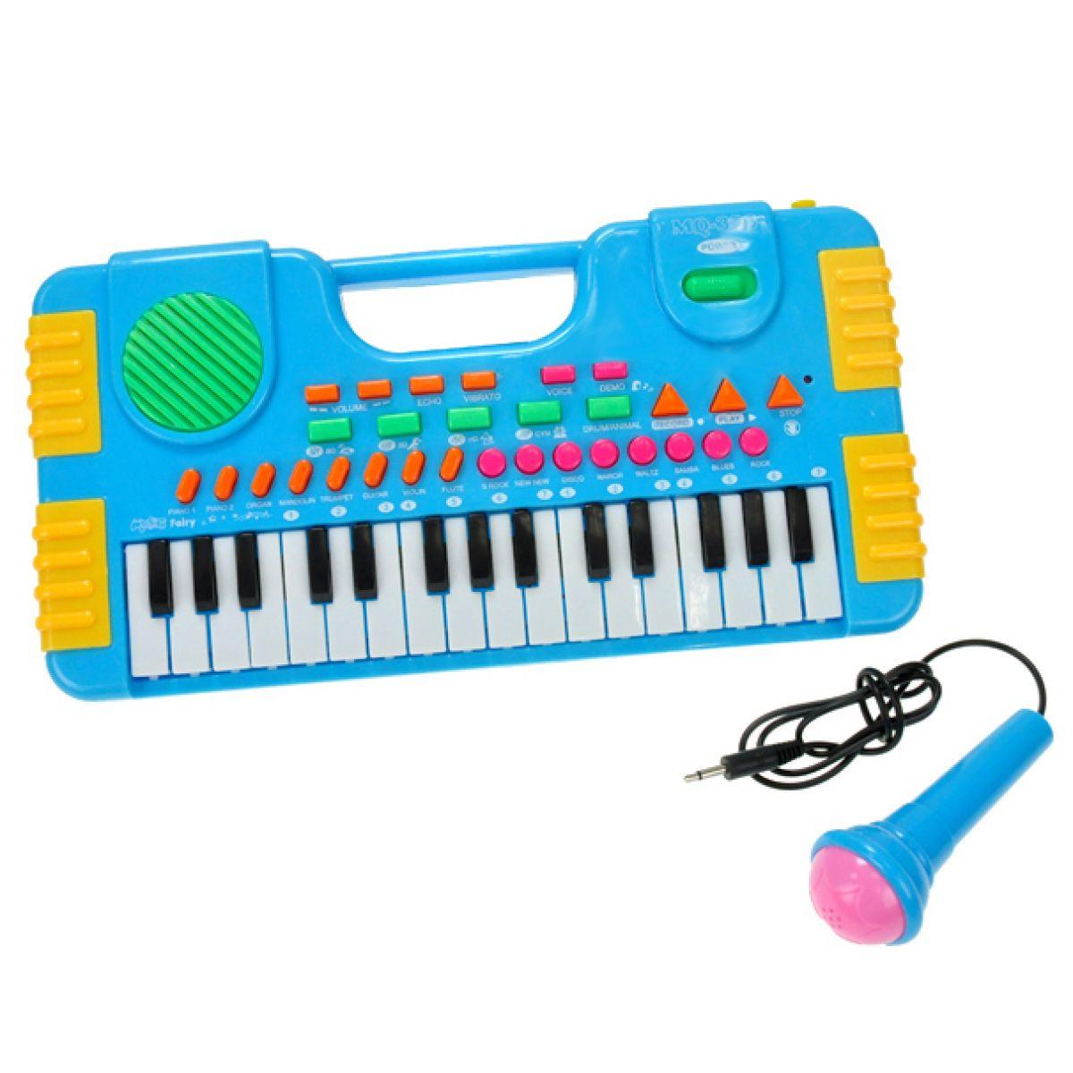 Teedies Piánko s mikrofonem nahrávací 31 kláves