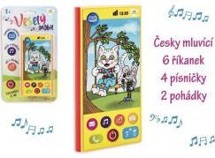 Telefon mobilní česky mluvící na baterie