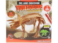 Tesání Dino svítící Triceratops