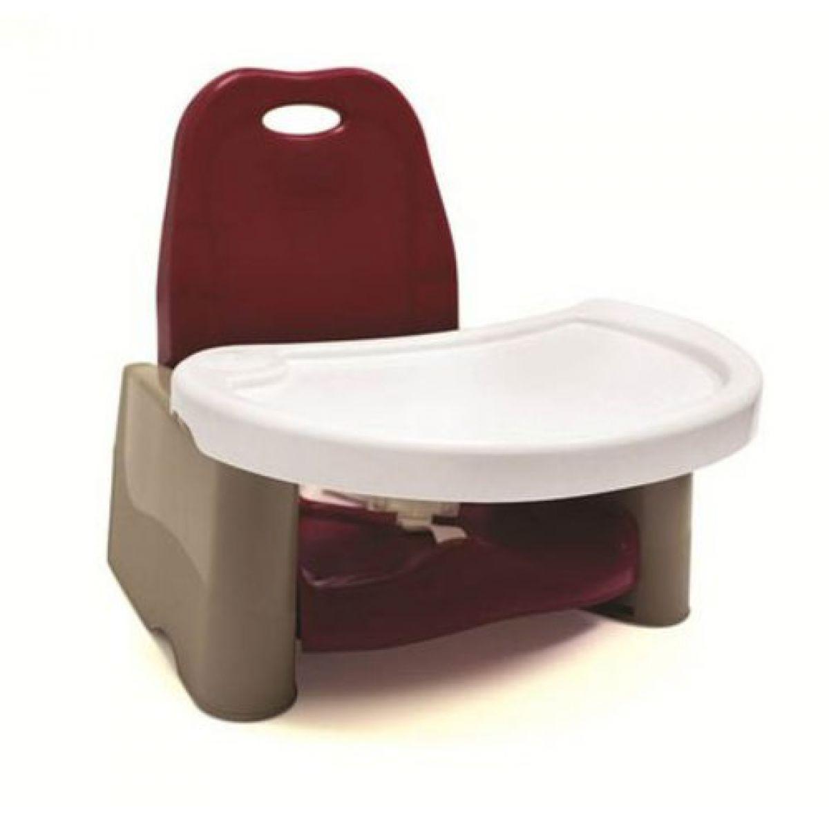 The First Years Dětská přenosná jídelní židlička Y7530 Brusinková