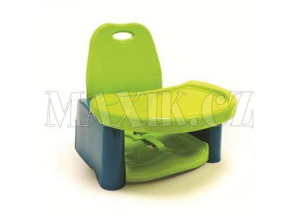 The First Years Dětská přenosná jídelní židlička Y7531 Limetková