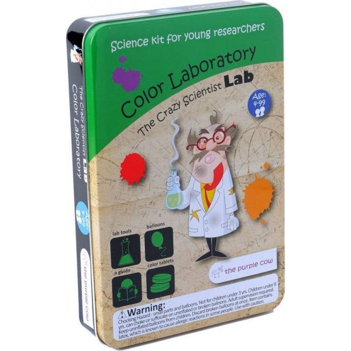 The Purple Cow Bláznivá vědecká laboratoř Barevná laboratoř