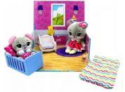 Tiny Tukkins Hrací sada Škola a plyšová zvířátka Myšičky
