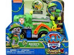 Tlapková patrola auta do džungle Rocky náklaďák