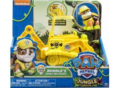 Tlapková patrola auta do džungle Rubble buldozer