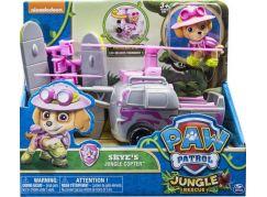 Tlapková patrola auta do džungle Skye Helikoptéra do džungle