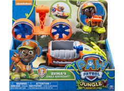 Tlapková patrola auta do džungle Zuma vznášedlo