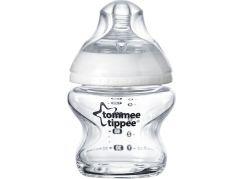 Tomme Tippee Kojenecká láhev C2N 150ml skleněná, 0m+
