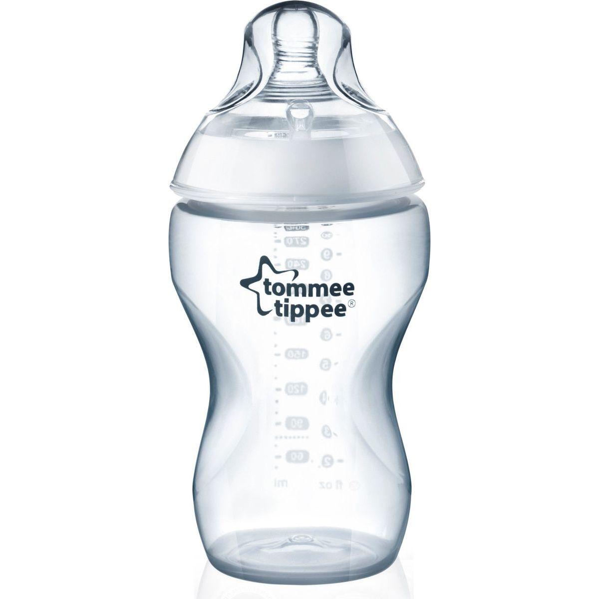 Tomme Tippee Kojenecká láhev C2N 250ml skleněná, 0m+