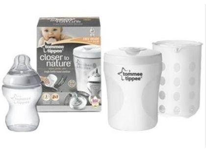 Tommee Tippee Cestovní sterilizátor na kojeneckou láhev C2N