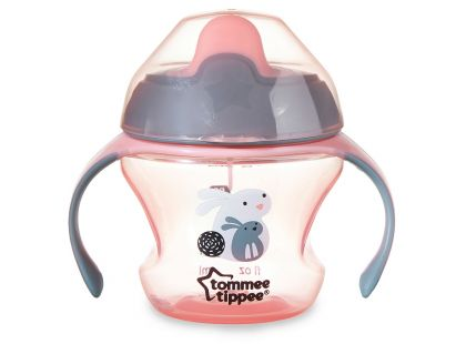 Tommee Tippee Explora Netekoucí hrnek First Cup 150ml - Růžová