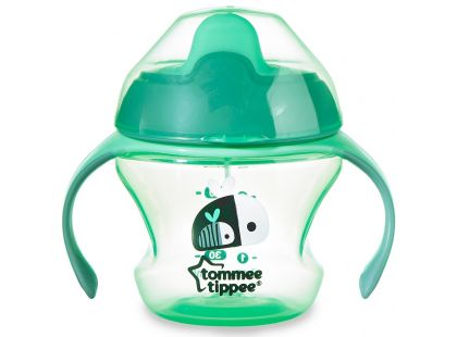 Tommee Tippee Explora Netekoucí hrnek First Cup 150ml - Zelená