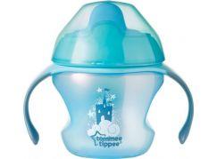 Tommee Tippee Explora Netekoucí hrnek First Cup 150ml 4m+ tyrkysová