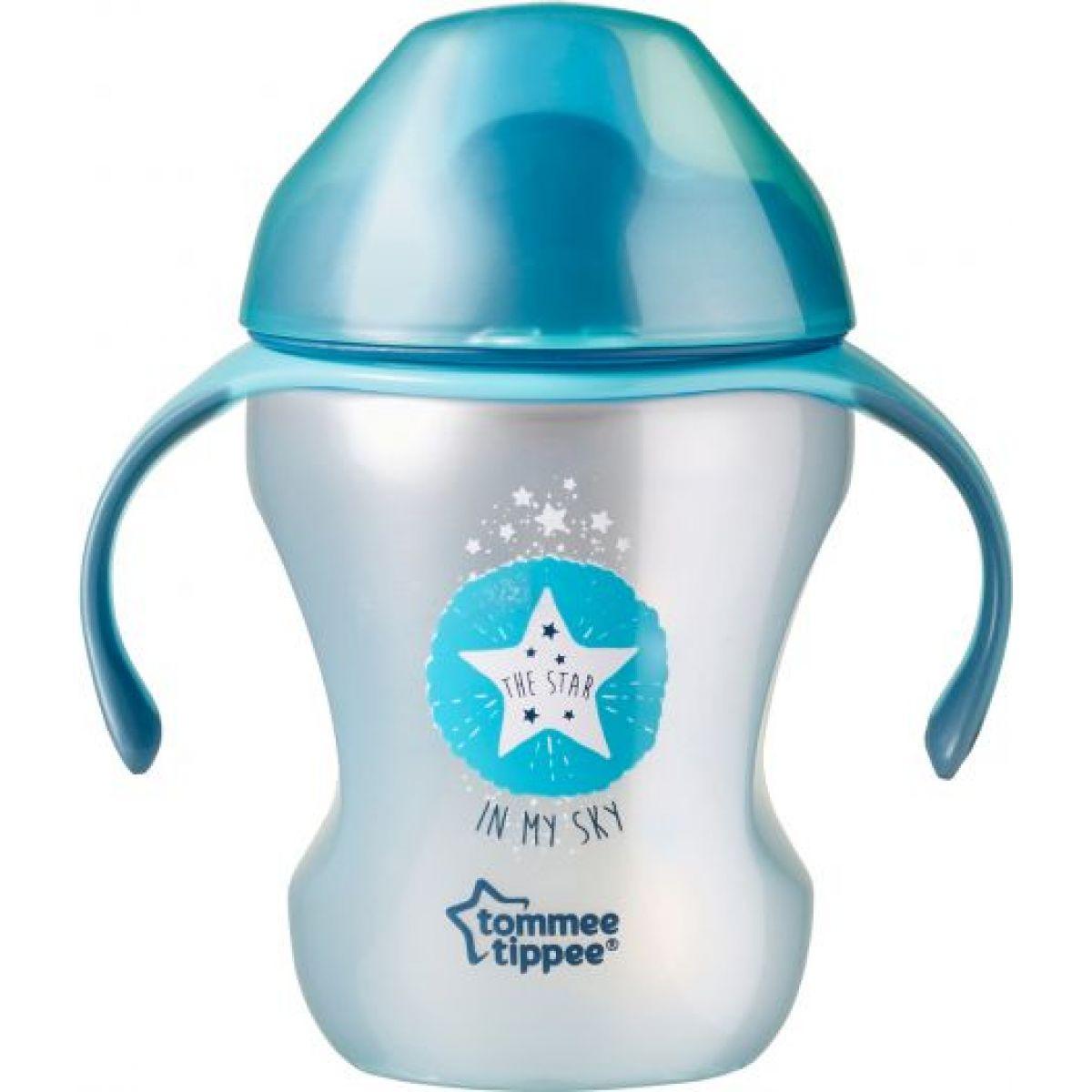 Tommee Tippee Netekoucí hrnek Explora Easy Drink 230ml Modrá