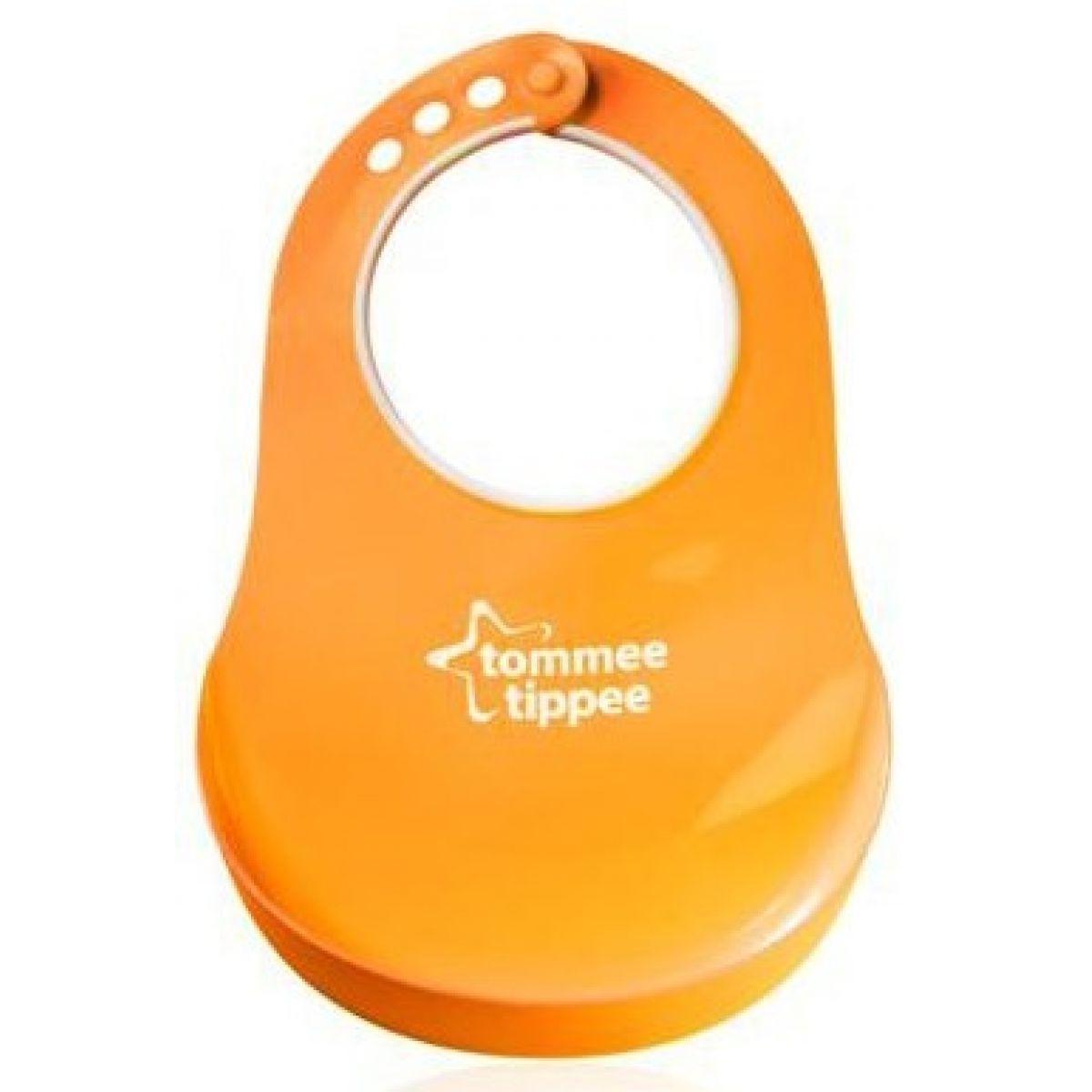 Tommee Tippee Plastový bryndák Basic - Oranžová