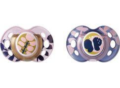 Tommee Tippee Šidítko C2N silikon Moda 2ks růžové