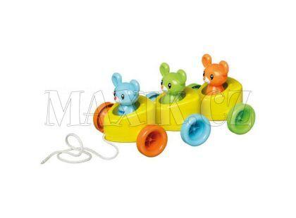 Tomy Sýrové autíčko s myškami T72099