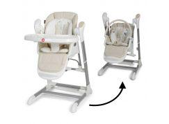 Topmark Xavi jídelní židle a houpačka 2 v 1 béžová