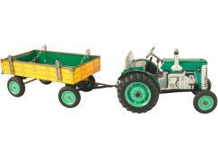 Traktor a valník Kovap - Zelená