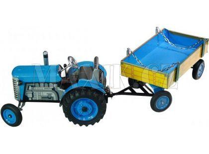 Traktor a valník Kovap - Modrá