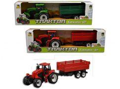 Traktor s přívěsem