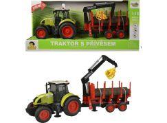 Traktor s vlečkou na setrvačník 38cm
