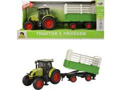Traktor s vlečkou na setrvačník 40cm