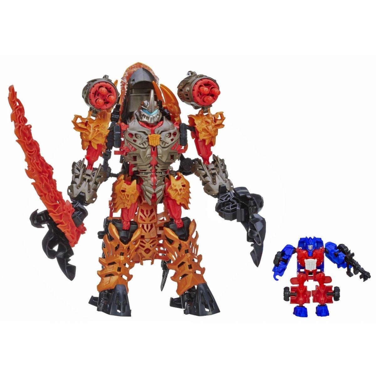 Transformers 4 Construct Bots Dinobot Grimlock