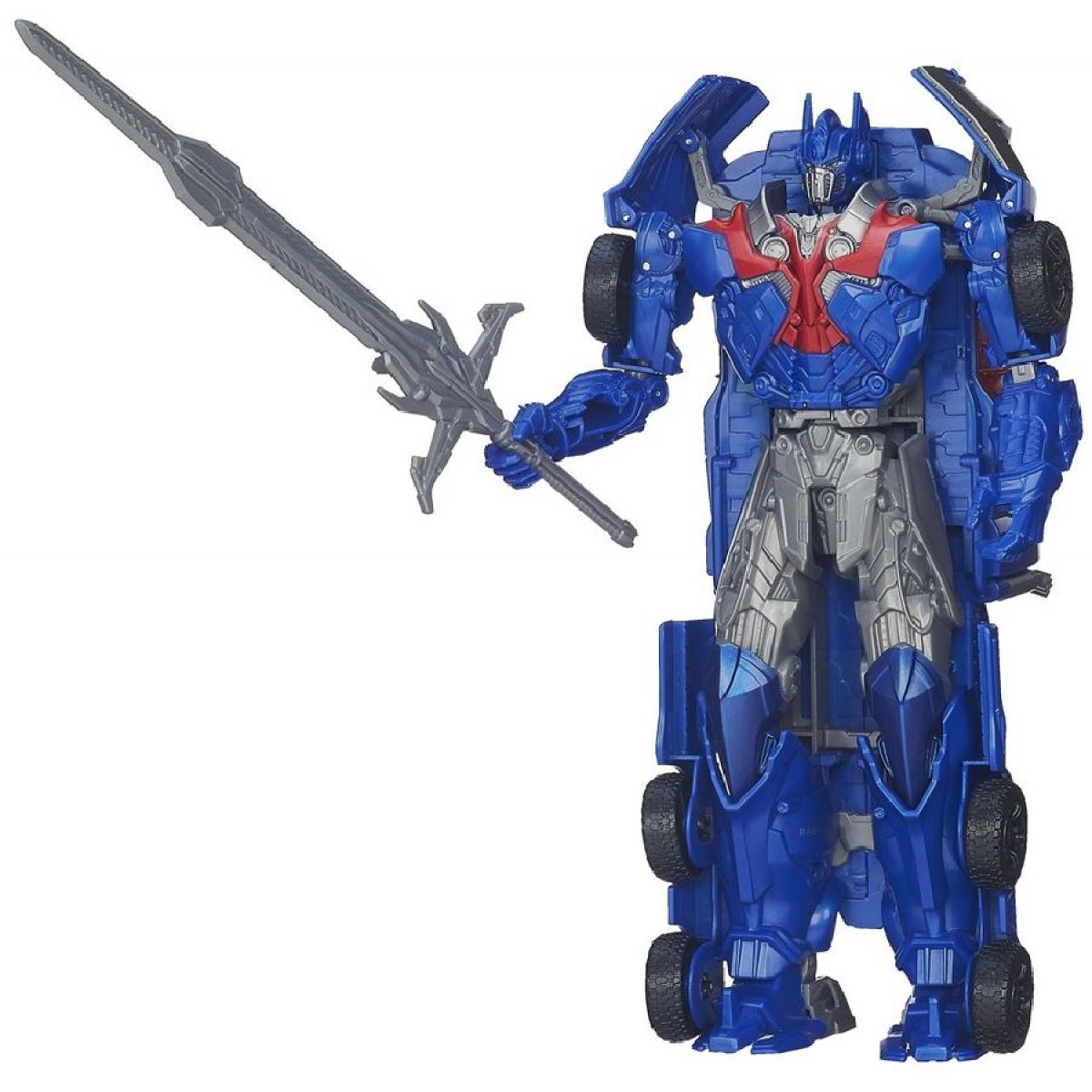 Transformers 4 Optimus Prime transformace otočením