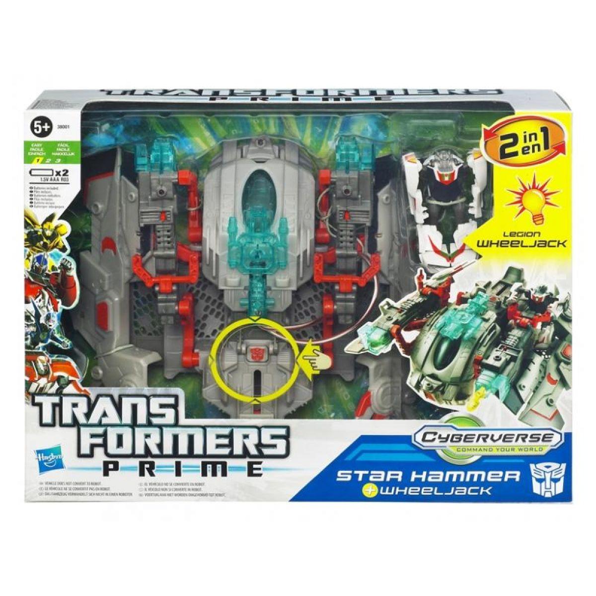 Transformers Prime Cyberverse Hasbro 38003 - Star Hammer