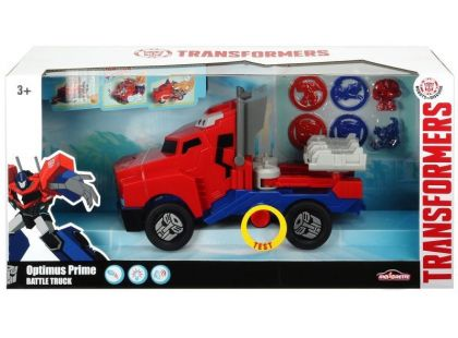 Transformers RID Optimus Prime Battle Truck