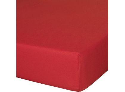 Traumeland Napínací prostěradlo Tencel Uni - červená