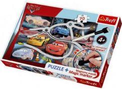 Trefl Cars Puzzle a magický fix