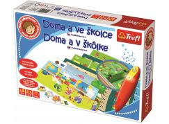 Trefl Malý objevitel Doma a ve školce + kouzelná tužka a puzzle zdarma