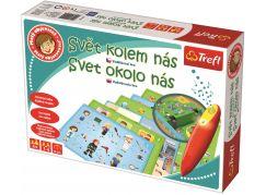 Trefl Malý objevitel Svět kolem nás + kouzelná tužka a puzzle zdarma