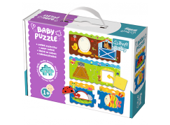 Trefl Puzzle Baby Classic Tvary