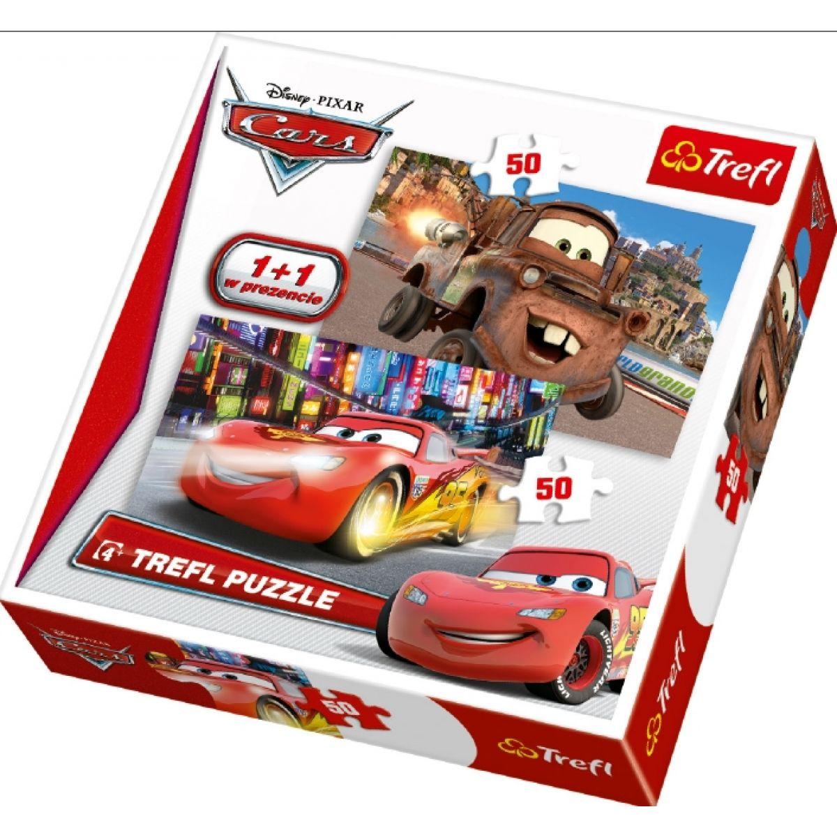 Trefl Puzzle Cars 2x50 dílků