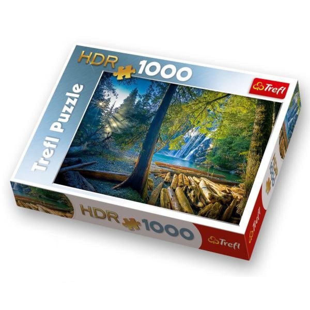 Trefl Puzzle HDR Tajemný les 1000 dílků