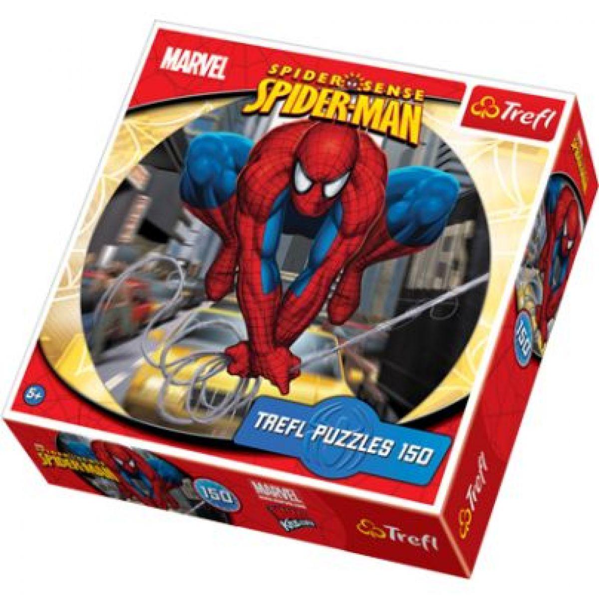 Trefl Puzzle kulaté Pavoučí skok 150 dílků