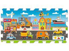 Trefl Puzzle pěnové Dopravní prostředky