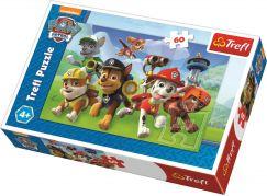 Trefl Puzzle Tlapková Patrola Připraveni do akce  60 dílků