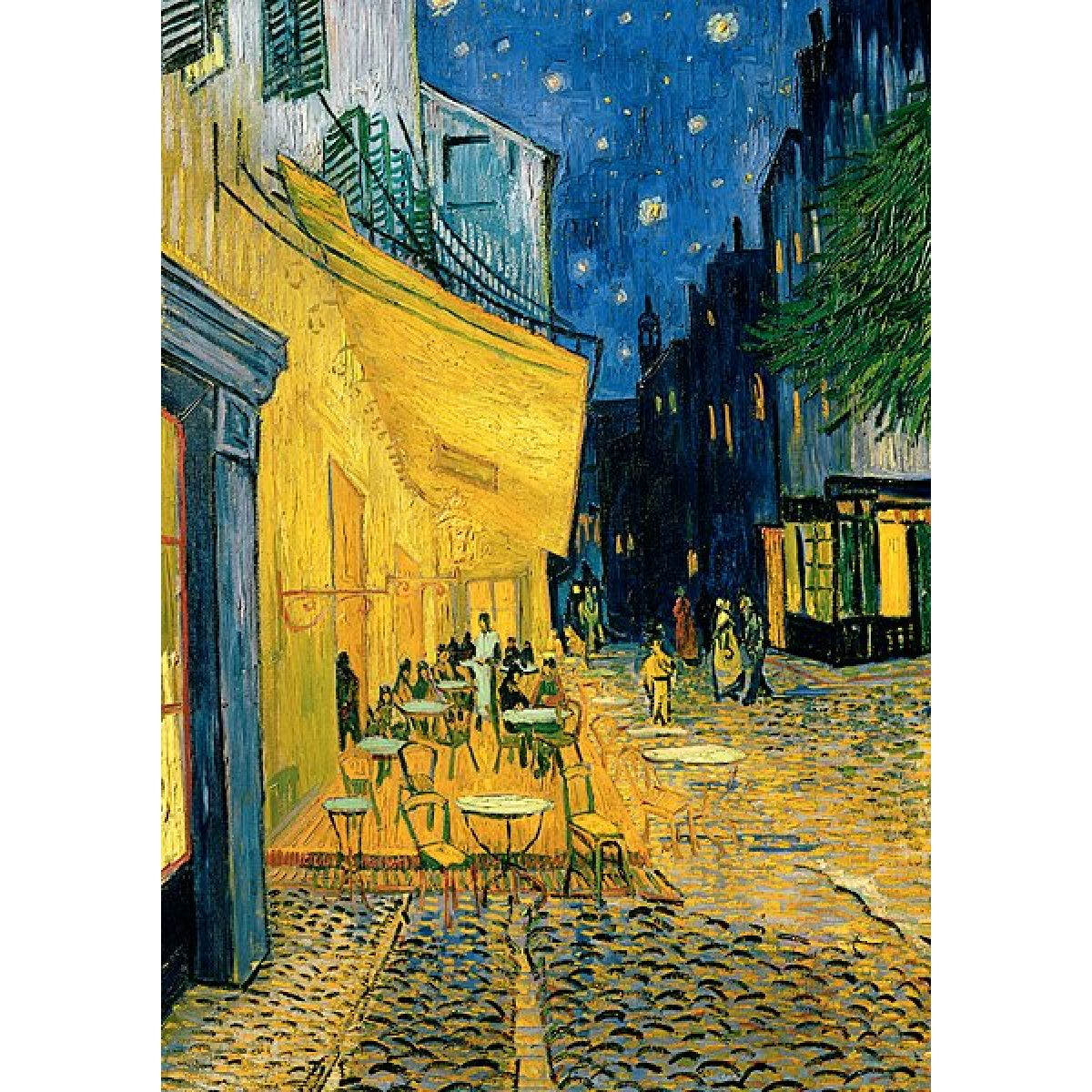 Trefl Puzzle Vincent van Gogh Terasa kavárny v noci 1000 dílků