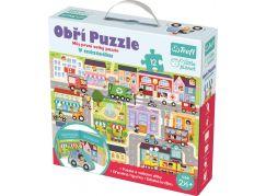 Trefl Puzzle XXL V městečku 12 ks