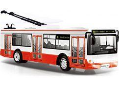 Rappa Trolejbus hlásící zastávky česky s funkčními dveřmi 28 cm